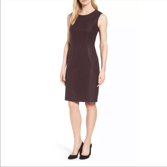 75c3f2a4 Hugo Boss Dresses | Boss Denesa Sheath Dress Wool Blend 14 | Poshmark